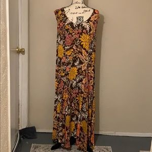 EUC Woman Within Long Dress. Size Large